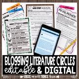 Kid Blog Literature Circles {Technology Centered}