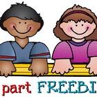 Kids & Pencil 3 part FREEBIE