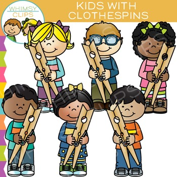 https://www.teacherspayteachers.com/Product/Kids-with-Clothespins-Clip-Art-1686412