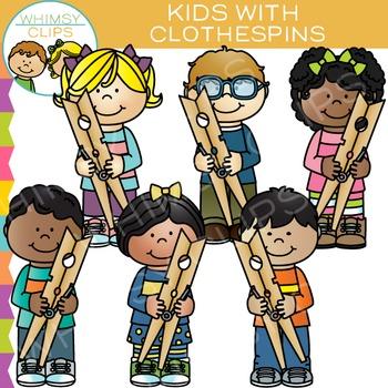https://www.teacherspayteachers.com/Product/Kids-with-Clothespins-Clip-Art-1686412