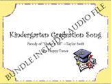 "Kinder ""Shake it Off' graduation parody. BUNDLE. Mp3 guide"