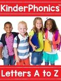 KinderPhonics® Unit One Letters A-Z