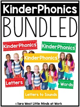 KinderPhonics® Units 1-3 BUNDLED