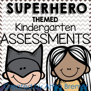 Kindergarten Assessment Pack {Super Hero themed}