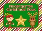 Kindergarten Christmas Pack ~ Printables + Game Cards Pre-K/K