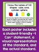 "Kindergarten Common Core Math Standards - Kid Friendly ""I"