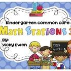 Kindergarten Common Core Math Stations Part 3