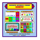 Kindergarten Common Core Standards: Math: Geometry (Shapes)
