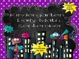 Kindergarten Daily Math September - NO PREP! (Common Core