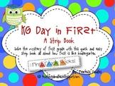 Kindergarten Day in First {A Transition Strip Book}