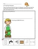 Kindergarten Everyday Math Lesson 1.13