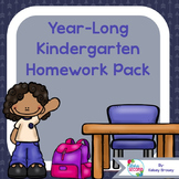 Kindergarten Homework Pack 2015-2016