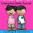 Back to School >> Kindergarten Interactive Math Journal {K.CC.3}