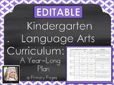 *EDITABLE* Kindergarten Language Arts