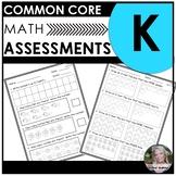 Kindergarten Math Common Core Assessments