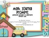 Kindergarten Math Journals (correspond to Envision Math 2011)