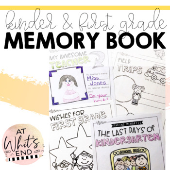 Kindergarten Memory Book {Last Days of Kindergarten} End of the Year