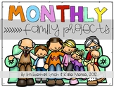 Kindergarten Monthly Family Projects (August - June)