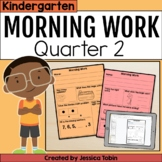 Morning Work for Kindergarten Common Core 2nd Quarter