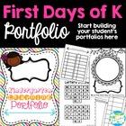 Kindergarten Portfolio Starter Pack