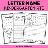 Kindergarten RTI - Letter Identification (English)