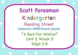 Kindergarten Reading Street SMARTboard Companion U2W5 A Be