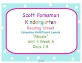 Kindergarten Reading Street SMARTboard Companion- Unit 4 W