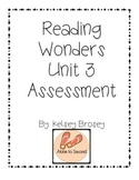 Kindergarten Reading Wonders Unit 3 Assessment