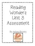Kindergarten Reading Wonders Unit 3 Assessment