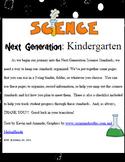 Kindergarten Science Next Generation
