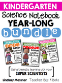 Kindergarten Science Notebook {Year-Long BUNDLE}