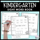 Kindergarten Sight Word Book