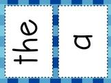 Kindergarten Sight Word Mats