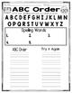 Kindergarten Spelling Homework/Activities for the Year!