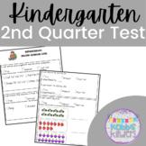 Kindergarten Standards Based Assessment - 2nd Quarter