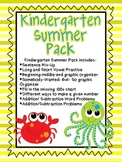 Kindergarten Summer Pack