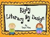 Kindergarten, Theme 1 Literacy By Design Graphic Organizers