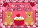 Kindergarten Valentine Pack ~ Printables + Game Cards Pre-K/K