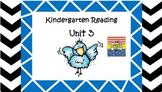 Kindergarten Wonders Unit 3 (Bundled)