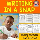 Writing in a Snap {Fall Edition K-1}
