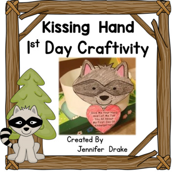 Kissing Hand 1st Day Craftivity  ~Templates for Preschool-2nd & General Day~