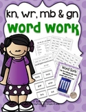 Kn-, -mb, wr-, & -gn Word Work