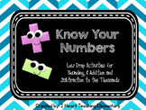 Know Your Numbers Low Prep Activities