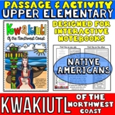 Kwakiutl Native Americans Passage and Activity for INTERAC