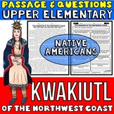 Kwakiutl Native Americans Passage and Questions