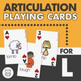 L Articulation Game Card Deck