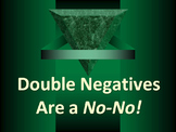 ELA DOUBLE NEGATIVES Avoiding Errors in Construction Power