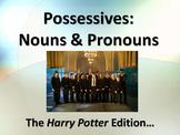 ELA POSSESSIVE NOUNS & PRONOUNS Harry Potter Edition Power