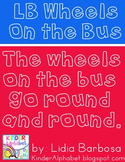 LB Wheels On the Bus Font { Personal Use }