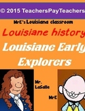 LOUISIANE - Early Explorers